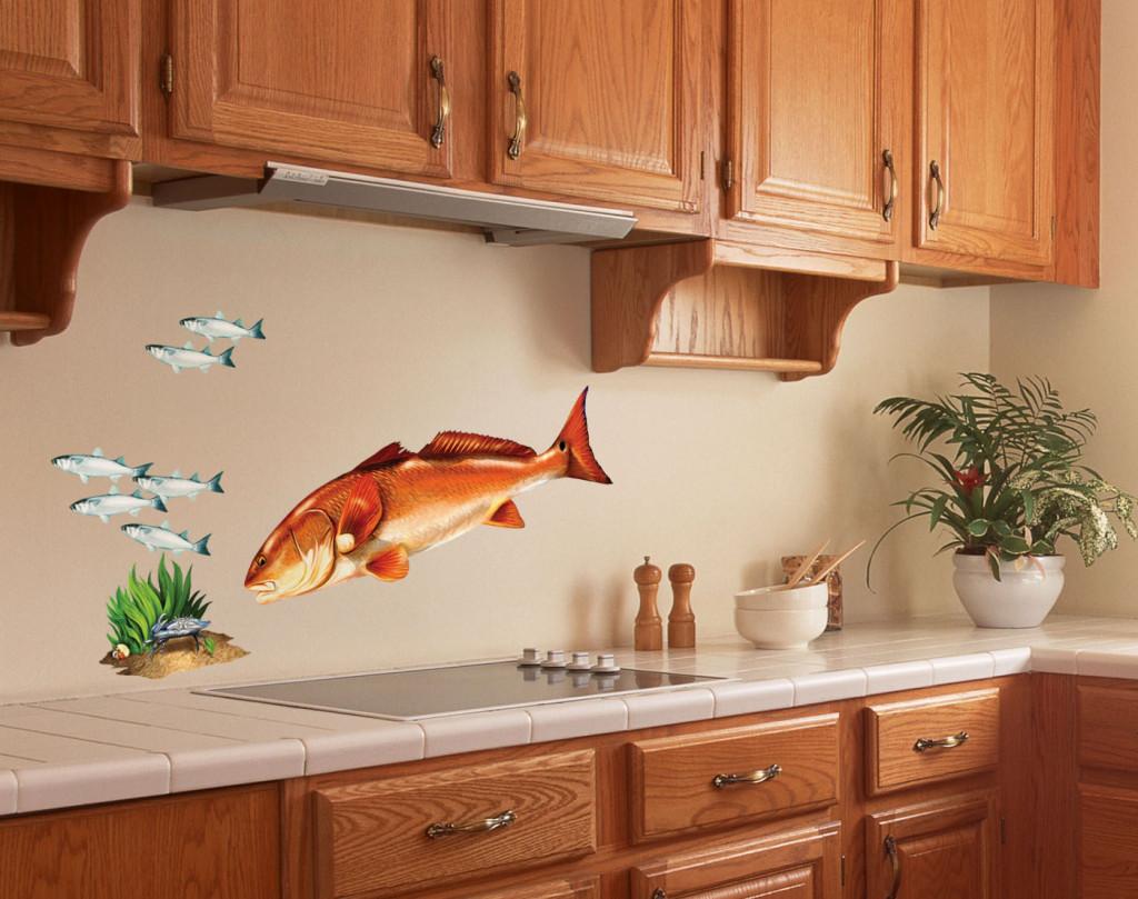 Стены на кухне фото Как украсить стены на кухне